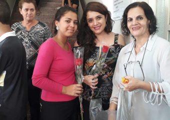 SINDIPÚBLICO participa de homenagem da Seduce a Marietta Telles Machado