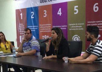 SINDIPÚBLICO participa de reunião com grupo de servidores da UEG em Anápolis