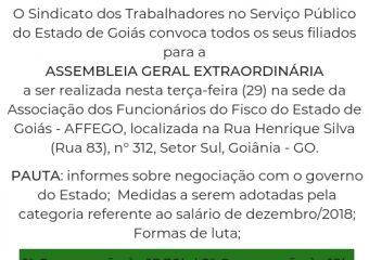 Convocação – Assembleia Geral Extraordinária