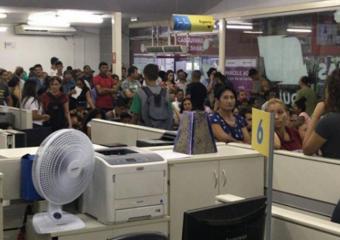 Servidores Públicos Estaduais denunciam situação caótica nas unidades do Vapt Vupt