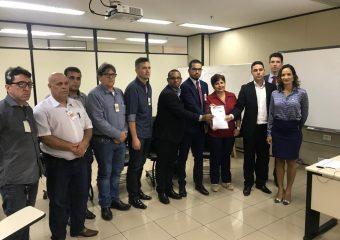 Representantes do Fórum em Defesa dos Servidores se reúnem com membros do MP