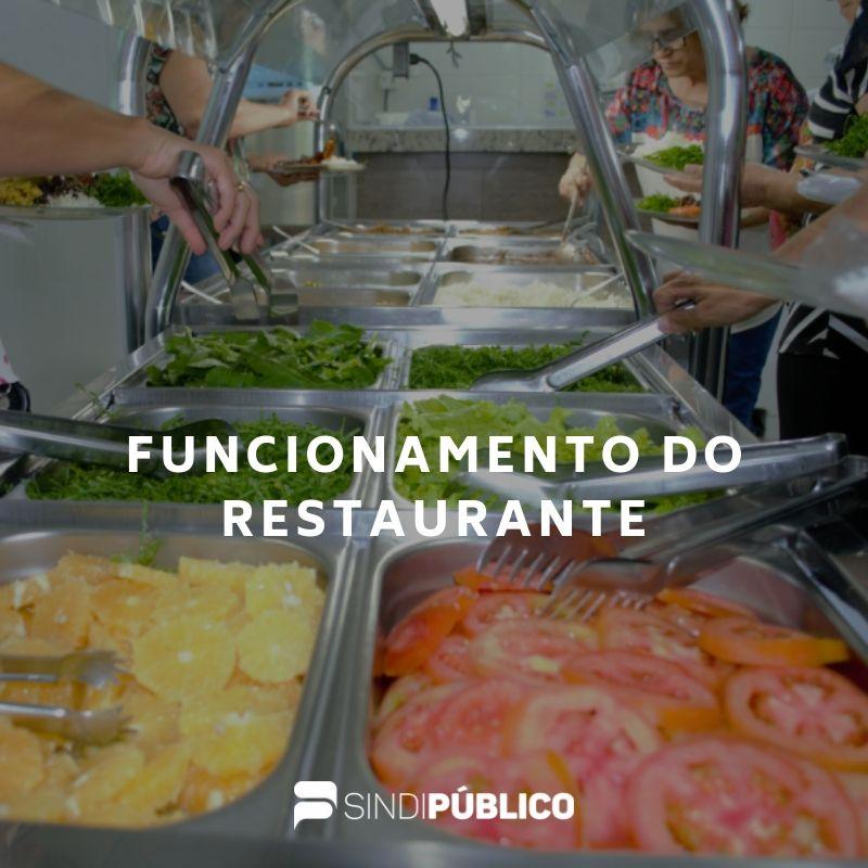 Restaurante do Servidor não abrirá nesta sexta-feira