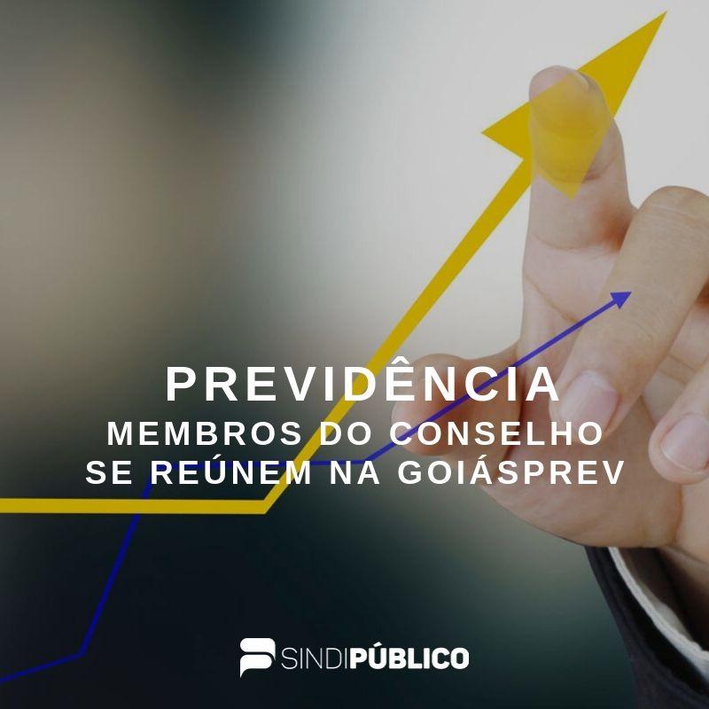 Conselho Fiscal da Previdência Estadual se reúne na Goiásprev