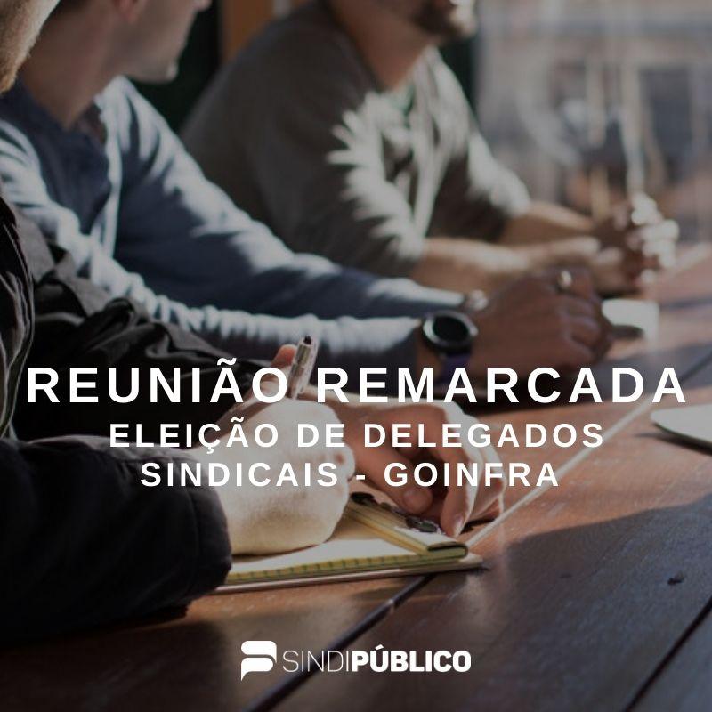 COMUNICADO: REUNIÃO REMARCADA