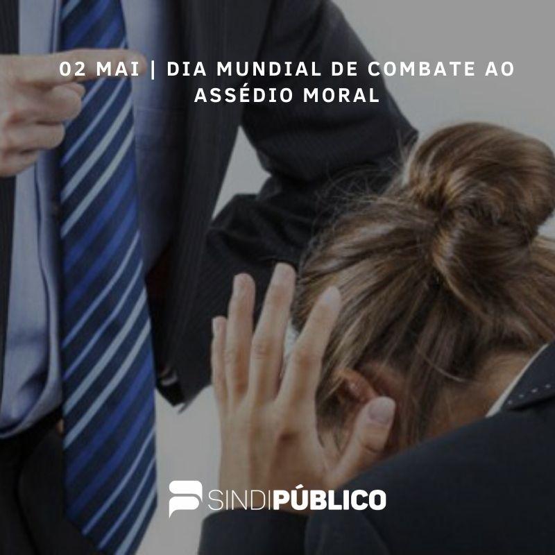 SINDIPÚBLICO É UM ALIADO NO COMBATE AO ASSÉDIO MORAL