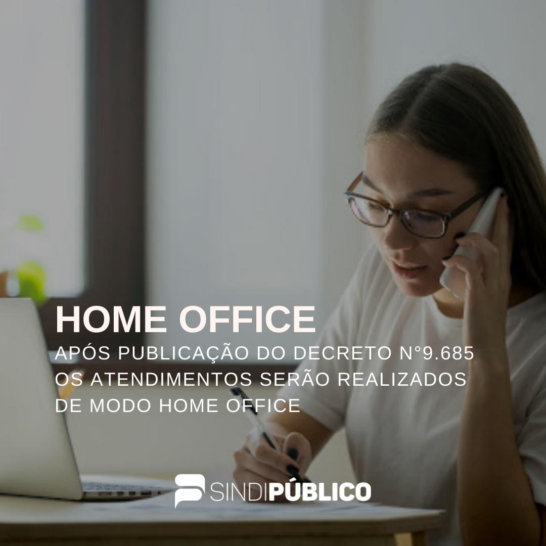 ATENDIMENTOS HOME OFFICE