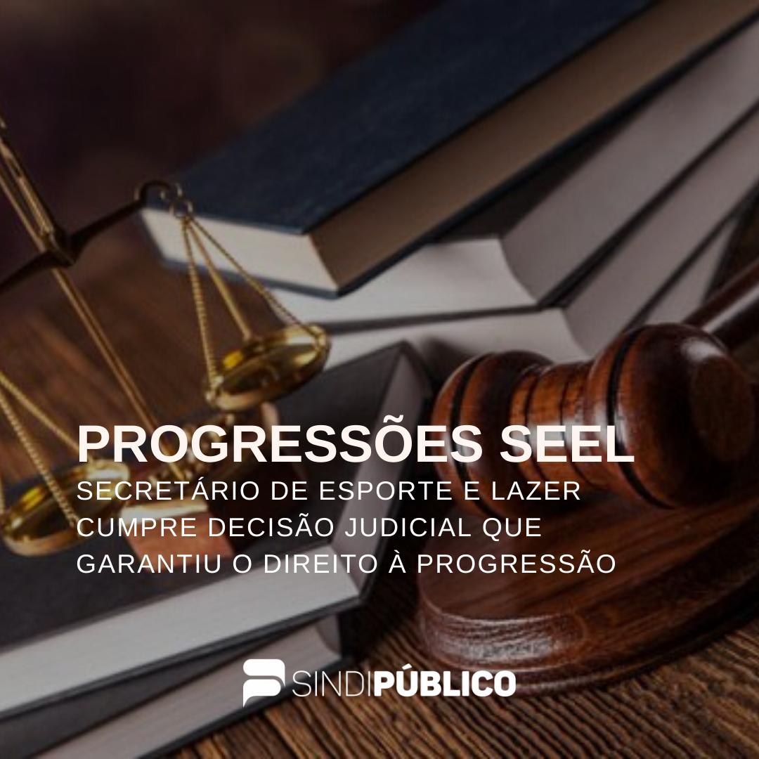 SECRETÁRIO DE ESPORTE E LAZER CUMPRE DECISÃO JUDICIAL QUE GARANTIU O DIREITO À PROGRESSÃO FUNCIONAL DOS SERVIDORES