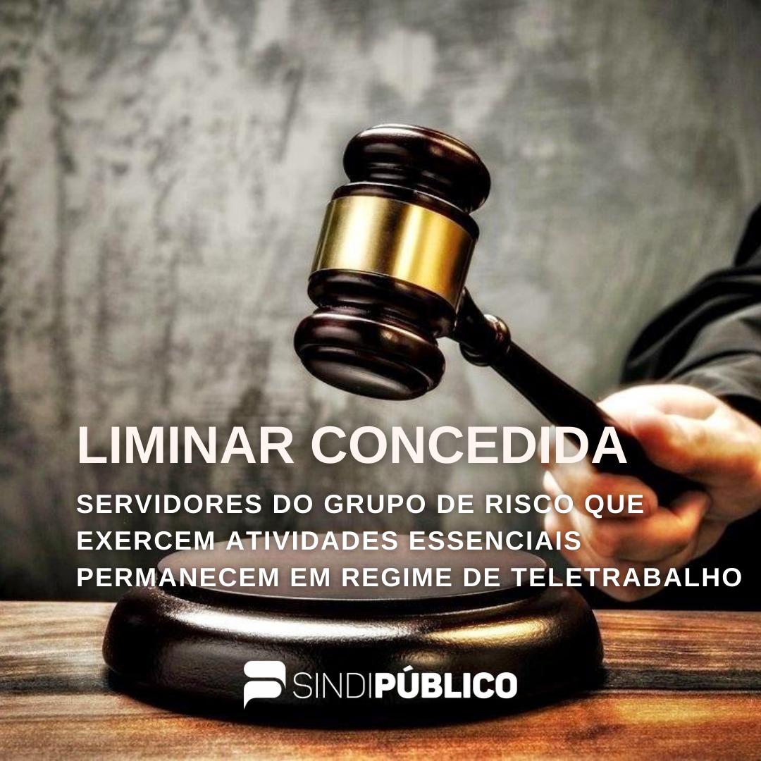 SERVIDORES DO GRUPO DE RISCO QUE EXERCEM ATIVIDADES ESSENCIAIS PERMANECEM EM REGIME DE TELETRABALHO