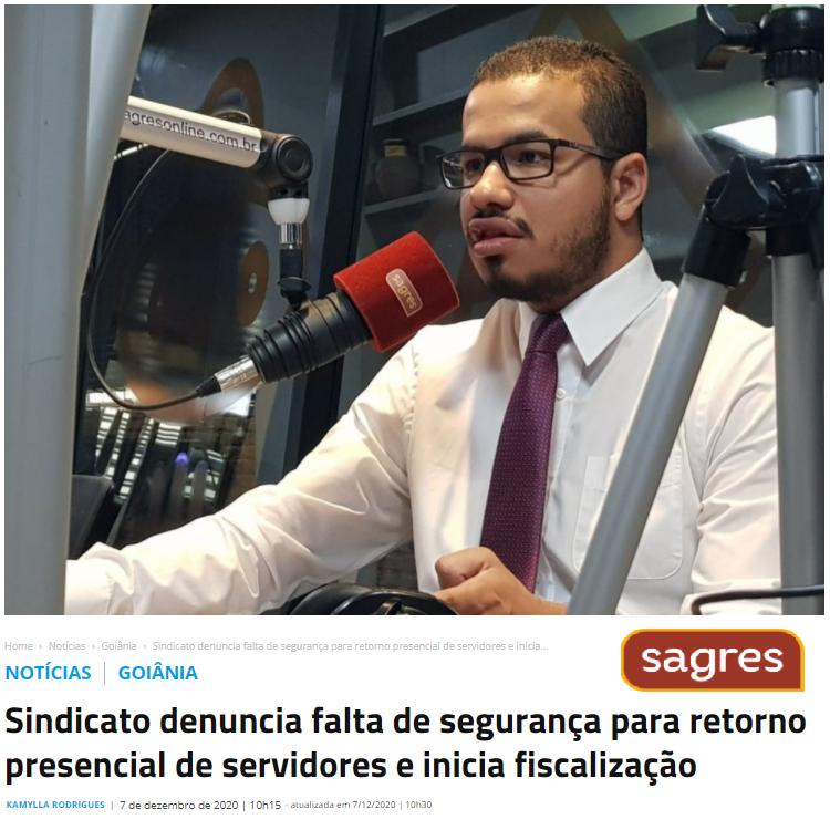 SINDICATO EXPLICA COMO IRÁ TRABALHAR PARA GARANTIR A SEGURANÇA DOS SERVIDORES QUE RETORNARAM AO TRABALHO PRESENCIAL