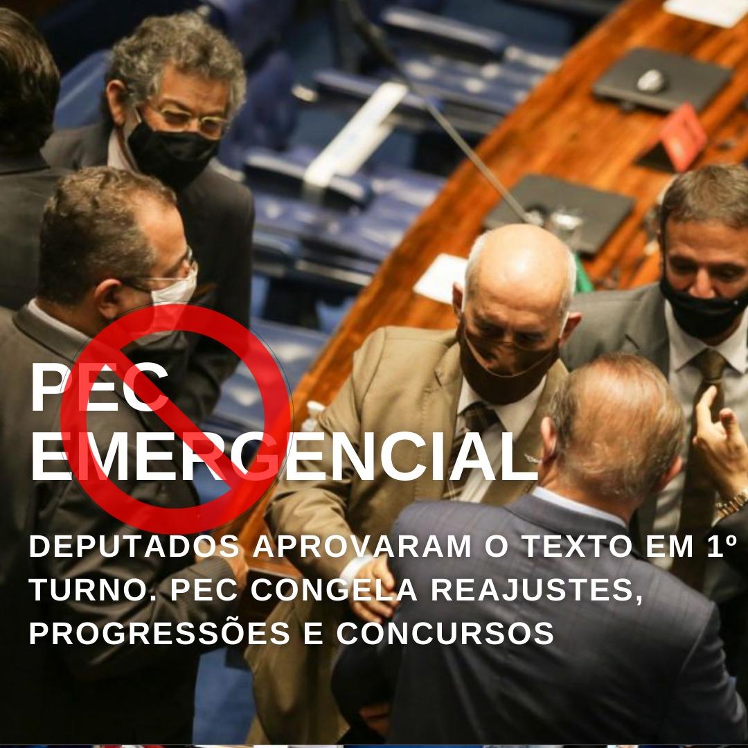 PEC Emergencial é aprovada em 1º turno