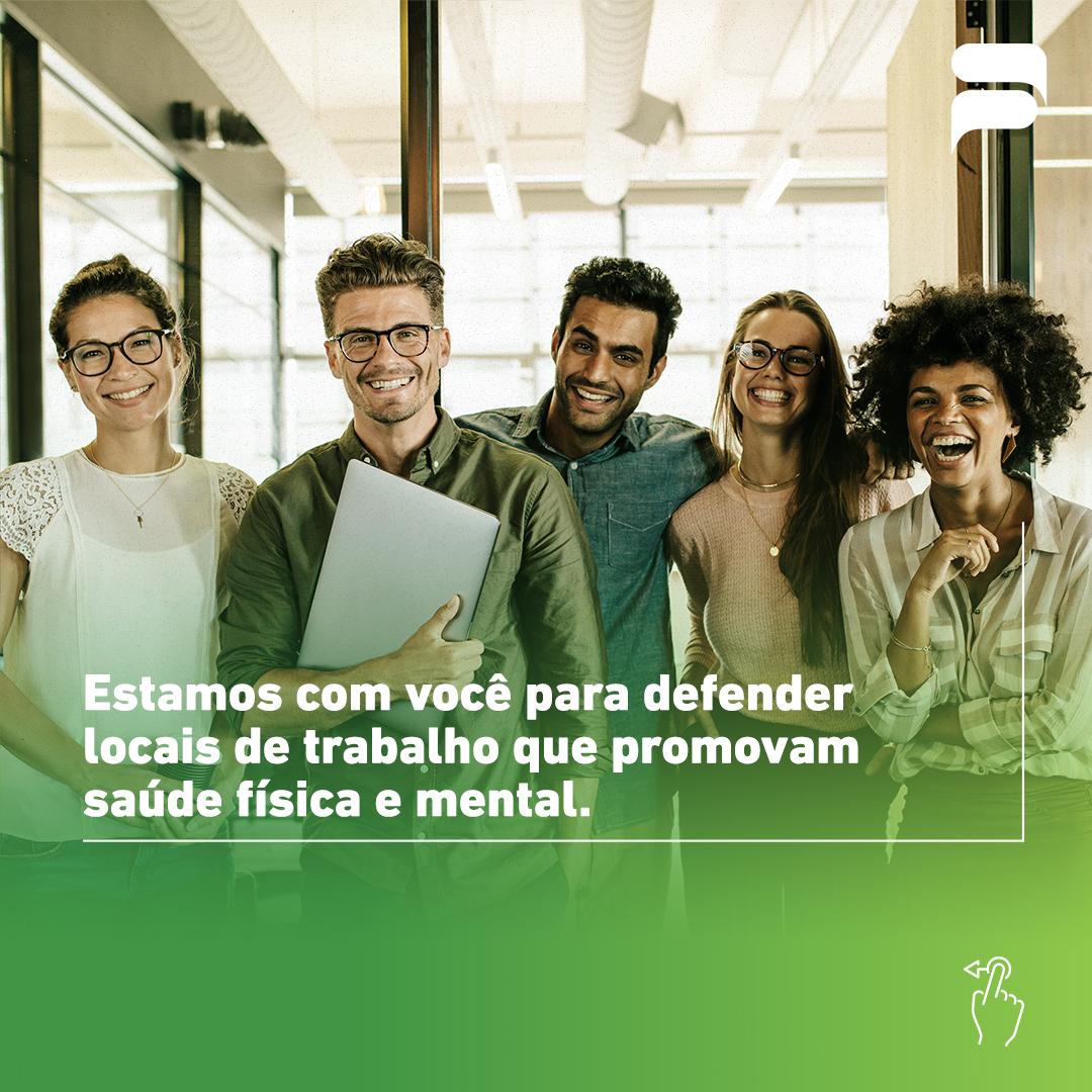 BOA CONDIÇÃO NO AMBIENTE DE TRABALHO É MAIS VALOR PARA O SERVIDOR
