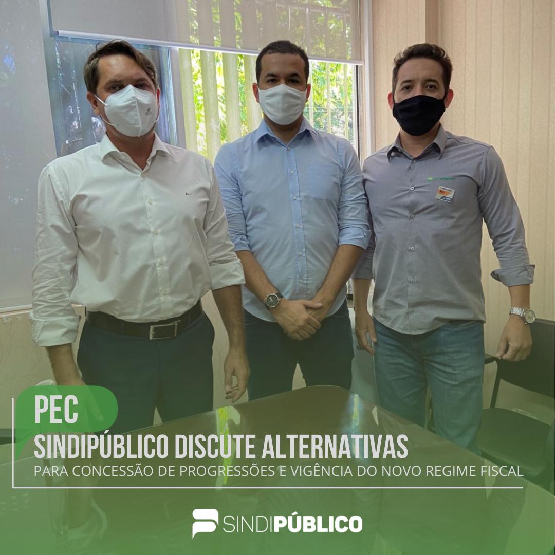 PEC DO TETO DE GASTOS  SINDIPÚBLCO DISCUTE ALTERNATIVAS
